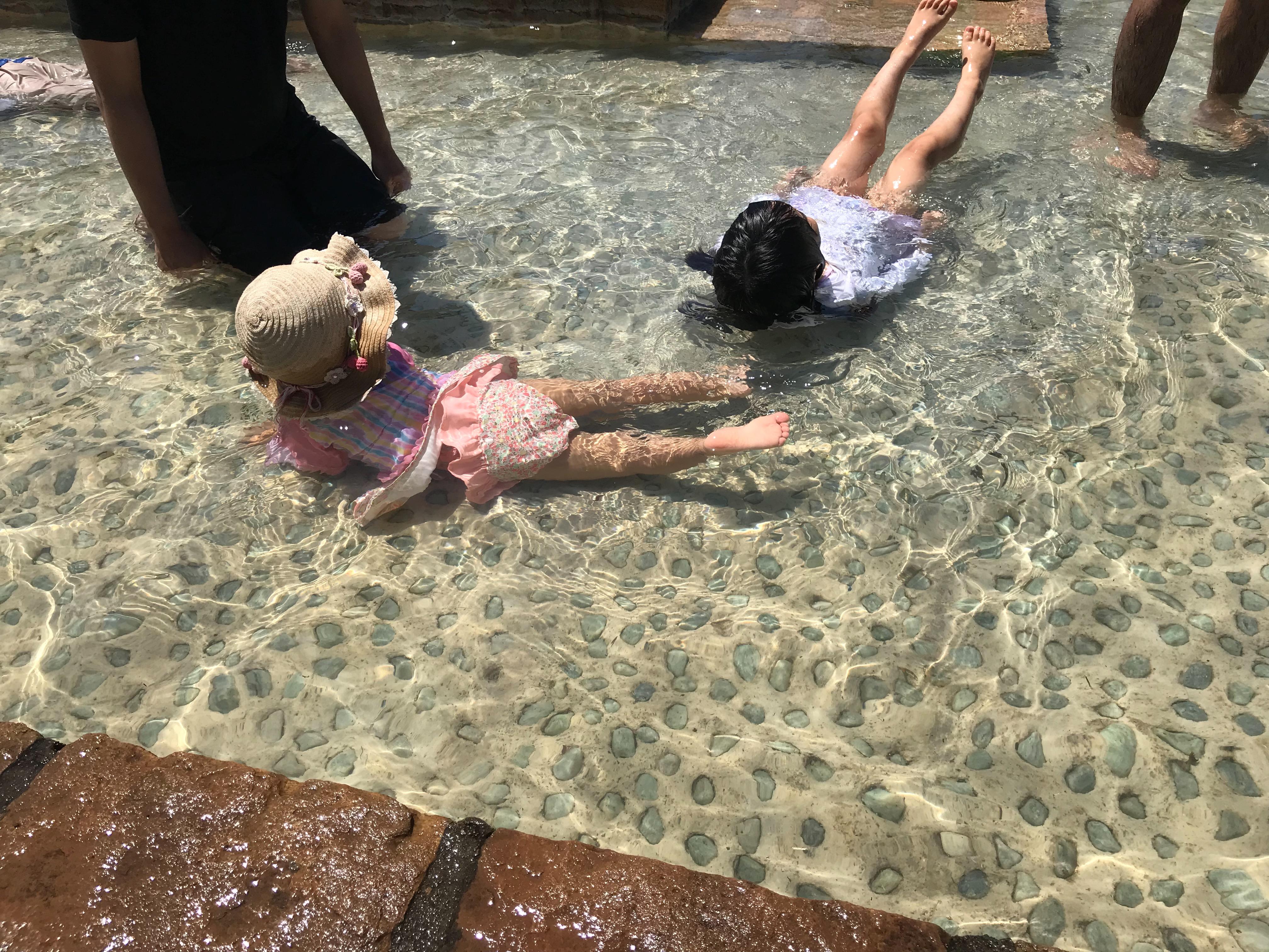 ソレイユの丘のじゃぶじゃぶ池で水遊び!体験して分かった事と注意点