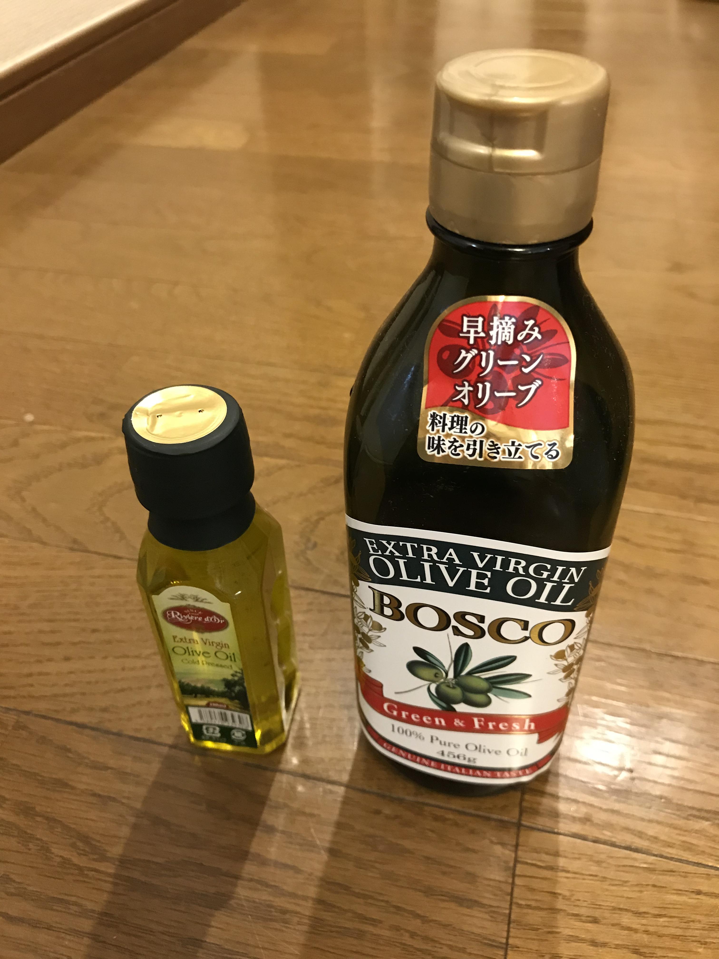 ダイソーのオリーブオイルと他の商品を食べ比べて分かった大きな違い